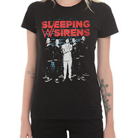 Sleeping With Sirens Wall Girls T-Shirt