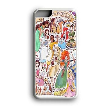 Black Friday Offer All Princess Jasmine Brave Rapunzel Snow White Ariel iPhone Case & Samsung Case