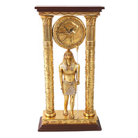 Park Avenue Collection Temple Of Amun Royal Egyptian Clock