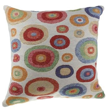 Polka Dot Decorative Pillow Cushion Cover