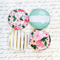 Glass Magnets - Magnets - Office Supplies - Decorative Magnets - Office Accessories - Office Decor - Fridge Magnets - Anthropologie Style