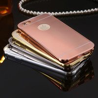 Shiny Mirror Phone Case for Apple iPhone 5 / 5S / 6 / 6S / 6Plus / 6S Plus