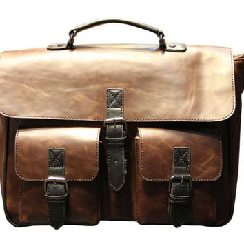 Horse Skin Laptop Carrying Bag