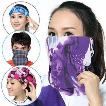 Unisex Scarf Outdoor 150 colors Promotion Multifunctional Cycling Seamless Bandana Magic Scarfs Women Men Hot Hair band Scarf