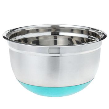 Stainless Steel Non Skid Base Mixing Bowl