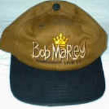 Bob Marley Hat Rastaman Live Up One Size Fits All