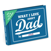KNOCK KNOCK WHAT I LOVE ABOUT DAD JOURNAL