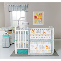 Trend Lab Lullaby Jungle Baby Nursery Crib Bedding CHOOSE FROM 6 7 8 Piece Set