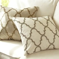 Sequin Tile Pillow Cover