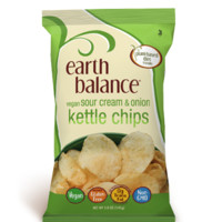 Earth Balance Sour Cream & Onion Kettle Chips