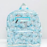 Skinnydip Exclusive Mermaid Shell Backpack at asos.com