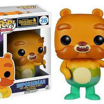 Funko Pop Animation: Bravest Warriors - Impossibear Vinyl Figure