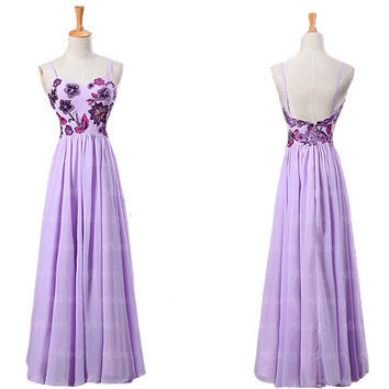 lilac bridesmaid dress, chiffon bridesmaid dress, long bridesmaid dresses, cheap bridesmaid dresses, sexy bridesmaid dresses