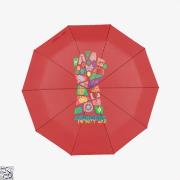 Avengers Ifinity War Pop Art, Avengers Infinity War Umbrella