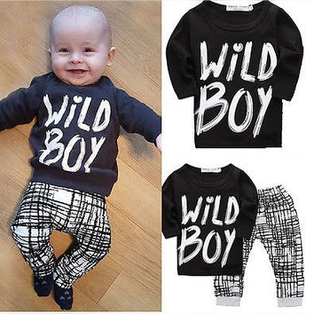 Wild Boy Pants Set