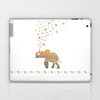 GATSBY ELEPHANT Laptop & iPad Skin by Monika Strigel