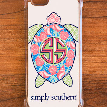 Simply Southern Sea Turtle iPhone Case