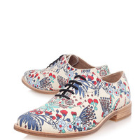 Marc by Marc Jacobs Floral Print Oxford Shoes | Women's Shoes by Marc by Marc Jacobs | Liberty.co.uk