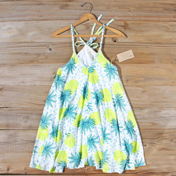 Palm & Pineapple Dress