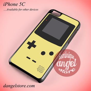 Cream Gameboy Phone case for iPhone 5C and another iPhone devices
