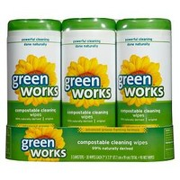 Green Works Compostable Cleaning Wipes Value Pack, Original, 90 ct : Target