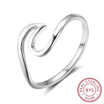 925 Sterling Silver Rings For Women Vintage Style Silver Jewelry Fashion Engagement Wedding Rings 2017 New(RI102802)