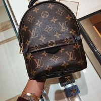 Louis Vuitton LV Fashion Woman Men Leather Travel Bookbag Shoulder Bag Backpack