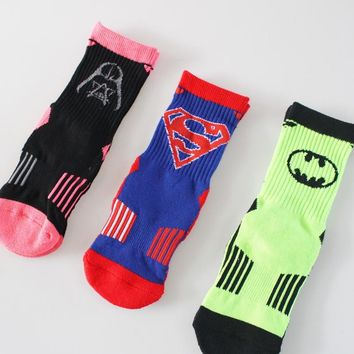 Star Wars General Socks Marvel Comics Hero Knee-High Warm Stitching pattern Antiskid Invisible Casual Adult unisex Socks 2017