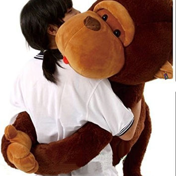 best monkey stuffed animal products on wanelo. Black Bedroom Furniture Sets. Home Design Ideas