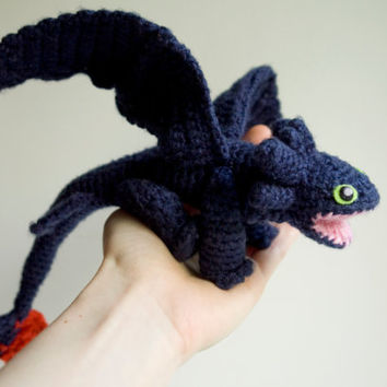 Knitting Pattern For Bearded Dragon : Shop Crochet Dragon on Wanelo
