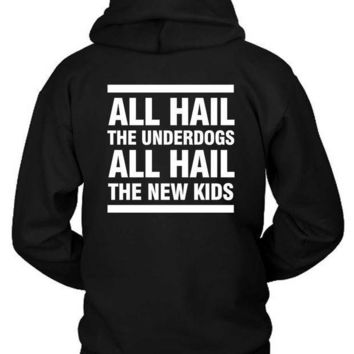 X Ambassadors Lyrics All Hail The Underdogs Hoodie Two Sided