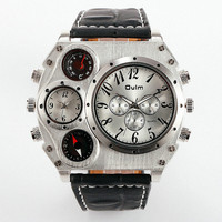 MEN WIDE CASE FASHION WATCH