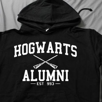 Hogwarts Alumni EST 993 Sweatshirt Hoodies long by CafeTshirt