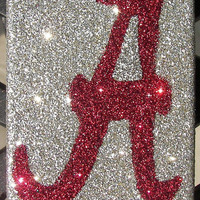 Sparkly Alabama  iPhone 4/4G Cell Phone Case - iPhone 5 cases available