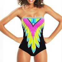 Trina Turk 2014 'Plumas' One Piece | Orchid Boutique