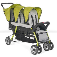 Foundations Trio Sport 3-Child Stroller Lime - 4130299