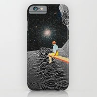 unknown pleasures to Infinity iPhone & iPod Case by Mariano Peccinetti