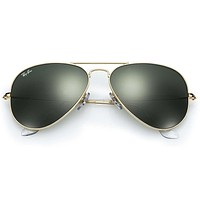 Cheap Ray-Ban RB3025 L0205 Aviator Gold Frame with G-15 Green Lens 58mm outlet