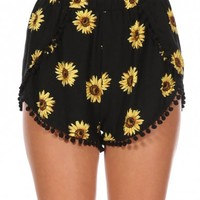 SUNFLOWER GLOW SHORTS