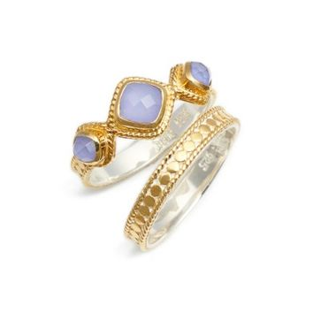 Anna Beck Trip Set of 2 Stacking Rings | Nordstrom