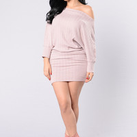 Tease You Dress - Blush