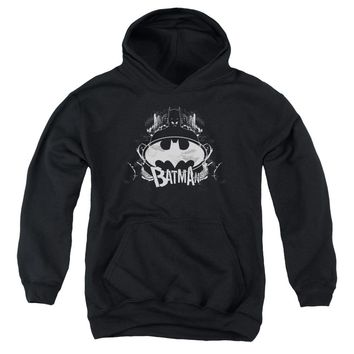 Batman - Grim & Gritty Youth Pull Over Hoodie