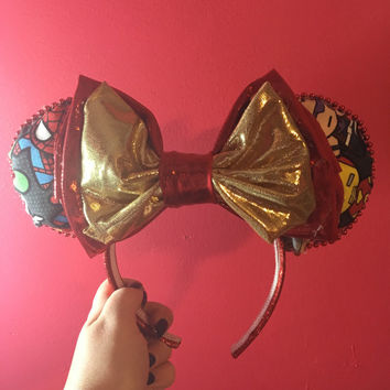 Avengers Inspired Mouse Ears