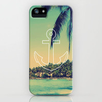 Vintage Summer Anchor iPhone Case by RexLambo | Society6
