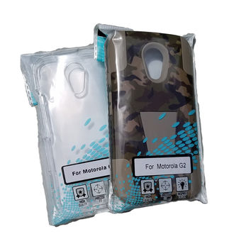 For Motorola G2 Hunter Camo & Clear Case 2 Pack