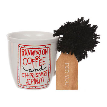 Running on Coffee Ceramic Mug