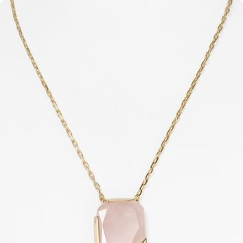 kate spade new york Stepping Stones Pendant Necklace, 20"