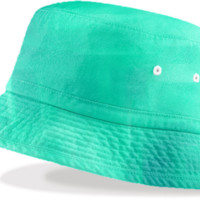 Seafoam Bucket HAt created by Christy Leigh | Print All Over Me