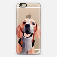 Geometric beagle iPhone 6 case by Audris Lim   Casetify