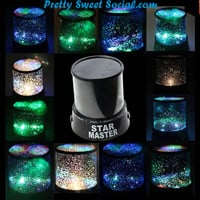 Star Master Night Sky Projector